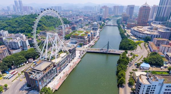 Aufbau eines Büros in Zhongshan