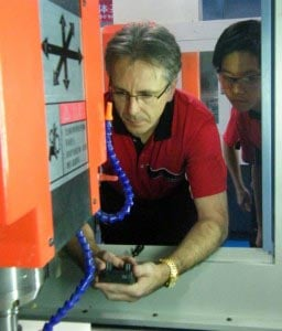 Gordon Styles Working With Star Rapid Engineers