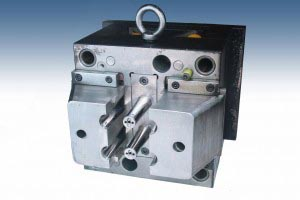 one side of injection molding tool