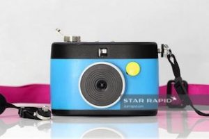 Plastic Injection Molded Camera
