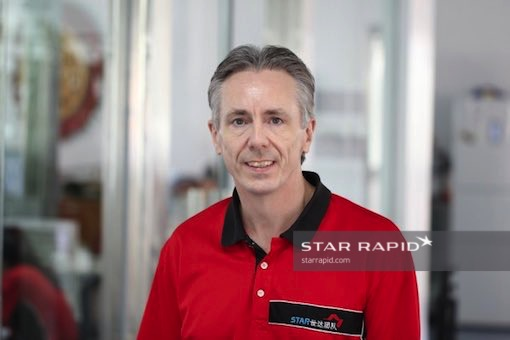 Star Rapid Founder Gordon Styles