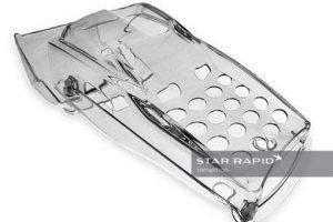 vapor polishing card reader part