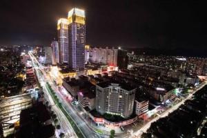 zhongshang city awesome night
