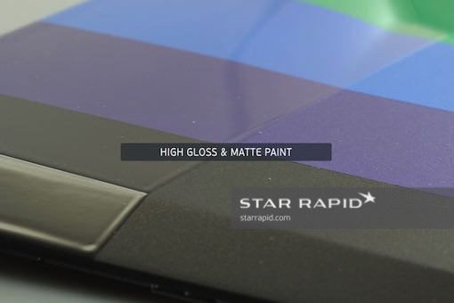 High Gloss and Matte Paint