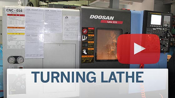 Doosan Turning Lathe
