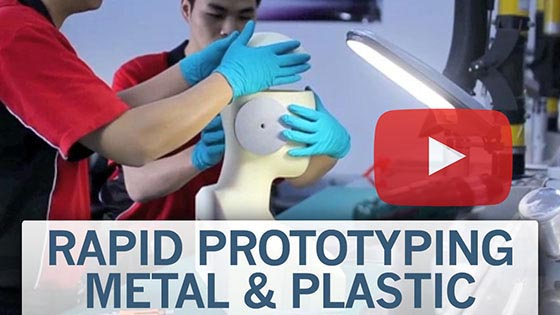 rapid prototyping metal and plastic