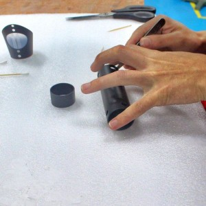 Hand finishing of vacuum casted parts