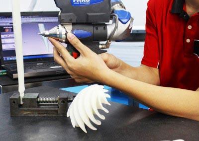Schritt 2.0: 3D-Laserscan des Werkstücks
