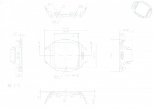 technical drawing background