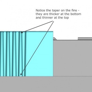 draft angle and taper 3d drawing