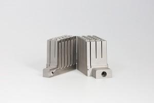3D printed heat sink made by DMLM