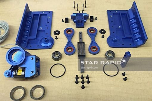 parts on workbench