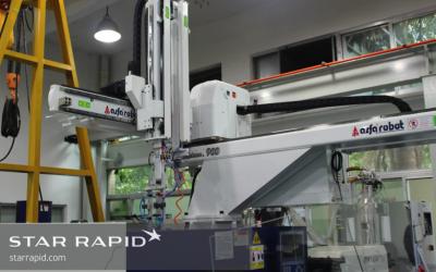 Star Rapid bekommt neuen Roboter für die Produktion