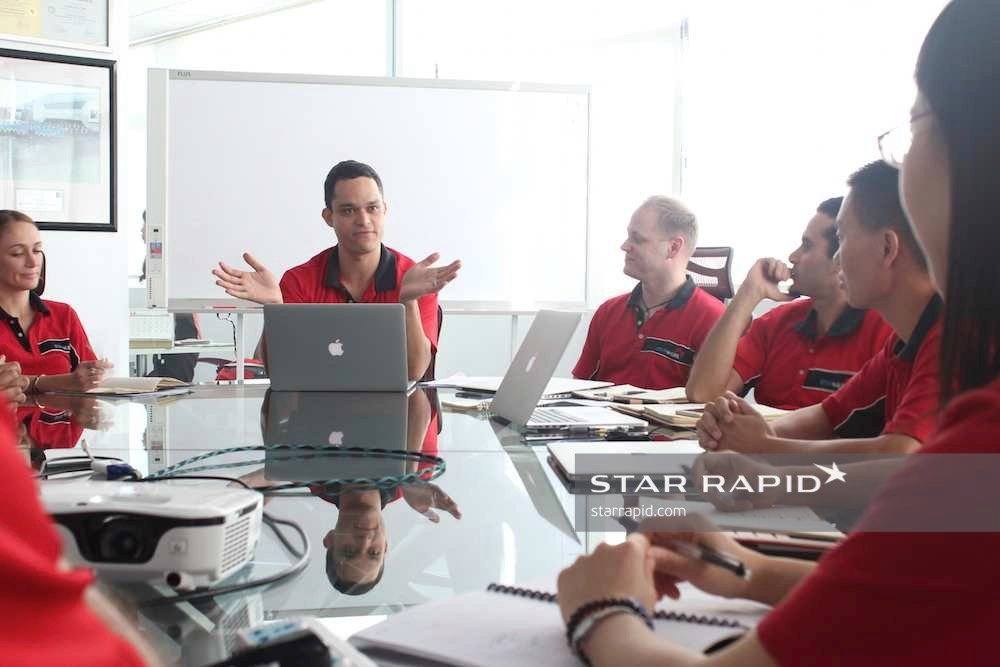 International Team at Star Rapid