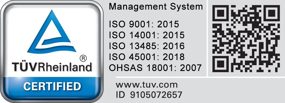 Star Rapid is certified by ISO 9001:2015, 14001:2015 Certified, BS OHSAS 18001:2007.